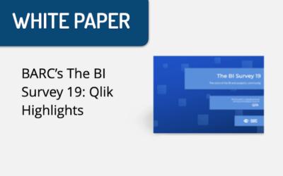 BARC's The BI Survey 19: Qlik Highlights