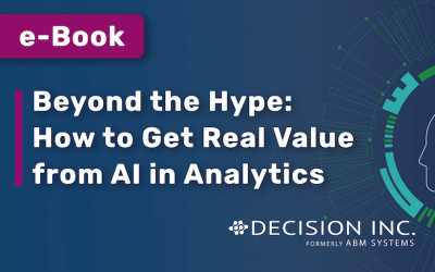E-BOOK: Beyond the Hype: How to Get Real Value from AI in Analytics