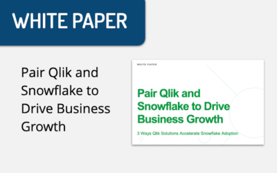 WHITE PAPER: Pair Qlik and Snowflake to Drive Business Growth