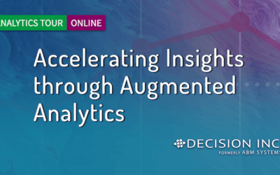 Qlik Analytics Tour, Online: Accelerating Insights THROUGH Augmented Analytics