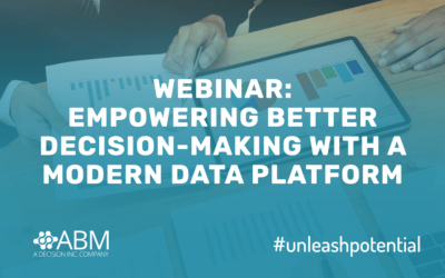Webinar Recording: Empowering Better Decision-Making With A Modern Data Platform