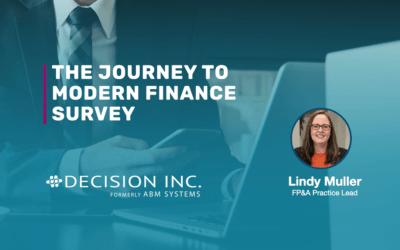 The Journey to Modern Finance Survey