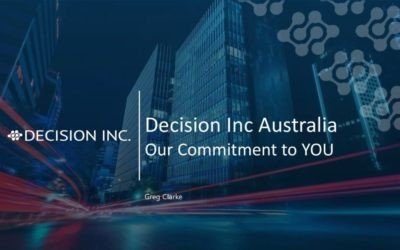 Webinar Recording: Our Commitment to You as Decision Inc. Australia