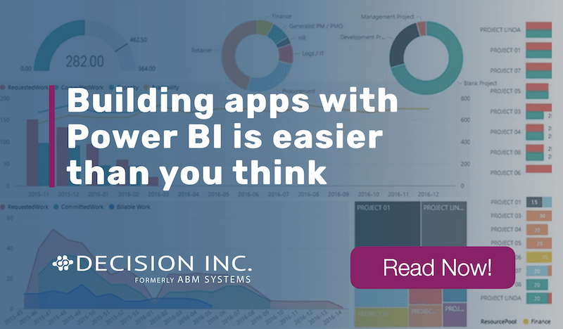 Building apps with Power BI is easier than you think