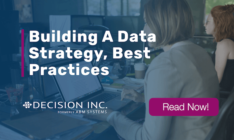 Building A Data Strategy, Best Practices
