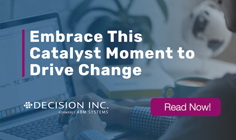 Embrace This Catalyst Moment to Drive Change