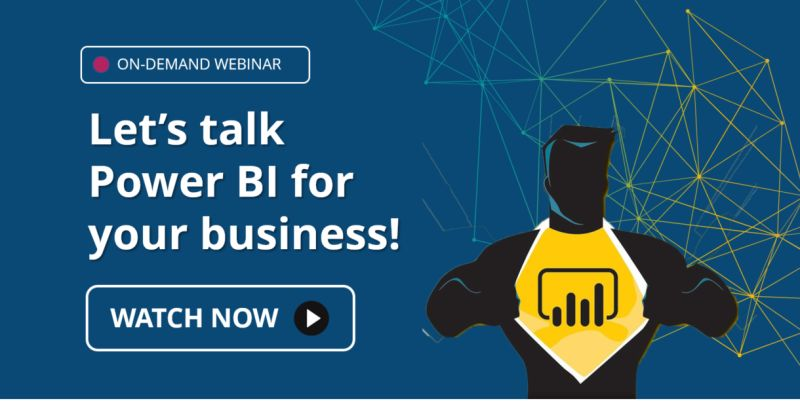 Webinar: Let's Talk Power BI for Your Business