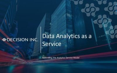 Webinar: Transform Your Experience of Analytics with Data Analytics as a Service