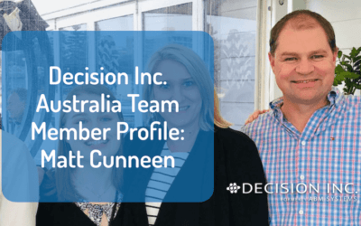 Decision Inc. Australia Team Member Profile: Matt Cunneen