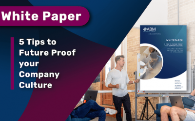 WHITE PAPER: 5 Tips to future proof your company culture