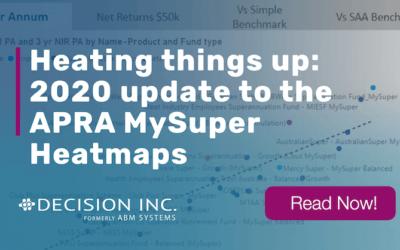 Heating things up: 2020 update to the APRA MySuper Heatmaps