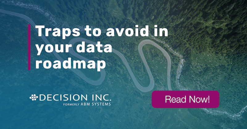 Traps to avoid in your data roadmap