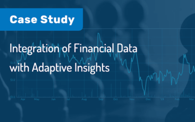 Case Study: Integration Of Financial Data With Adaptive Insights