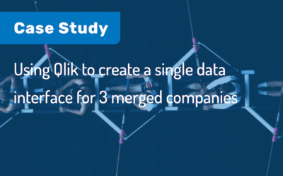 Case Study: Using Qlik to create a single data interface for 3 merged companies