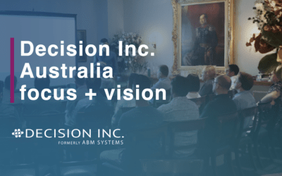 Decision Inc. Australia, new focus and vision