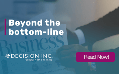 Beyond the bottom-line