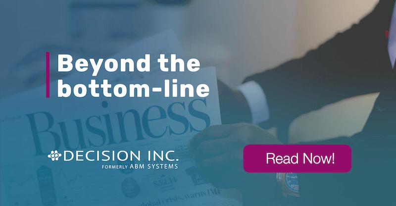 Beyond the bottom-line