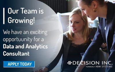 Job Alert: Data and Analytics Consultant