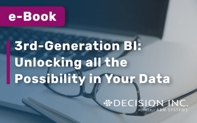 E-BOOK: 3rd-Generation BI: Unlocking All the Possibility in Your Data