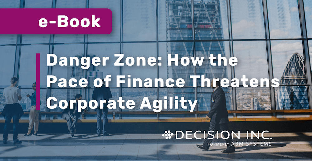 e-Book: Danger Zone: How the Pace of Finance Threatens Corporate Agility
