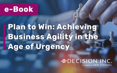 E-BOOK: Plan to Win: Achieving business agility in the age of urgency