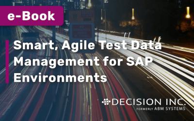 E-BOOK: Smart, Agile Test Data Management for SAP Environments
