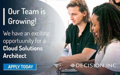 Job Alert: Cloud Solutions Architect