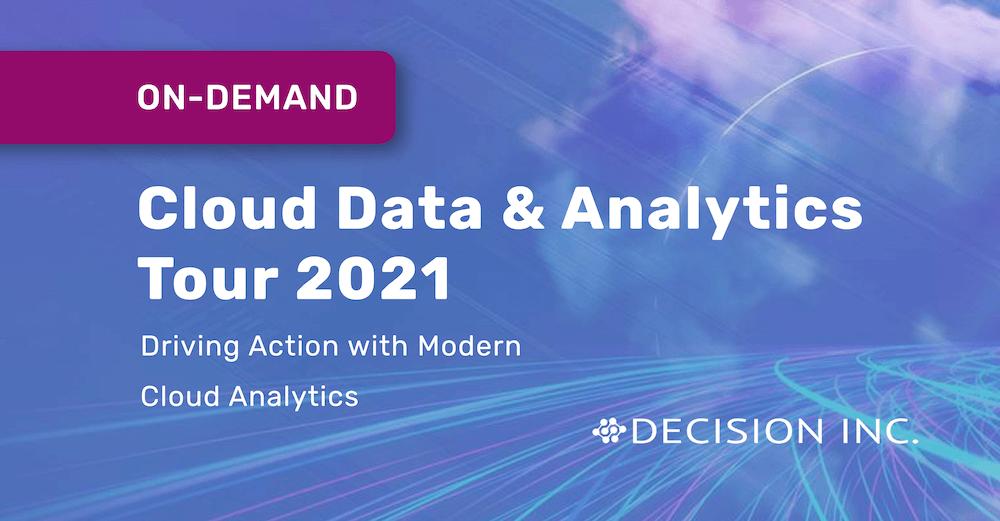Cloud Data & Analytics Tour 2021