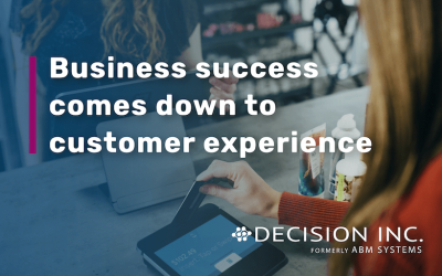 Business success comes down to customer experiences