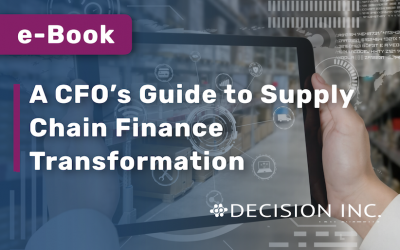 A CFO's Guide to Supply Chain Finance Transformation