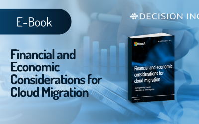 Financial and economic considerations for cloud migration