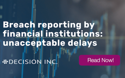 Breach reporting by financial institutions: unacceptable delays