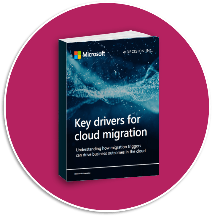 Key drivers for cloud migration