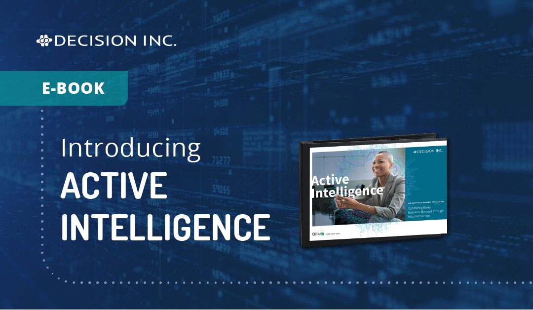 Active Intelligence | The next era in business intelligence