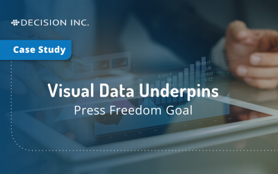 Visual data underpins press freedom goal